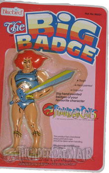 Blue Thundercats on Thundercats Big Badge Produced By Blue Bird Country Of Origin United