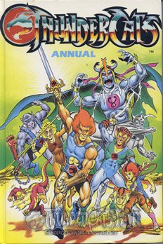 Thundercat Merchandise on Uk Annual 1988     Thundercats Lair