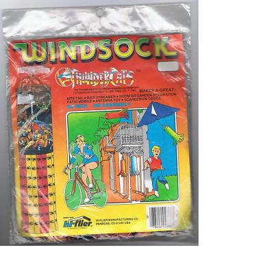 Thundercat Merchandise on Windsock     Thundercats Lair