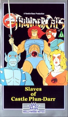 Thundercats  Movie Release Date on United Kingdom Vhs Video Releases