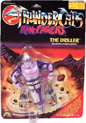 Thundercats Driller on The Driller     Thundercats Lair