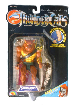 Thundercats Toys on Ljn Thundercats Jackalman   Mint On Card