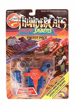 Blue Thundercat on Laser Sabers  Blue      Thundercats Lair