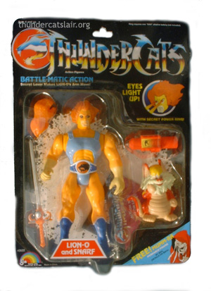 Thundercats Toys on Ljn Thundercats Lion O   Orange Haired Variant   Mint On Card