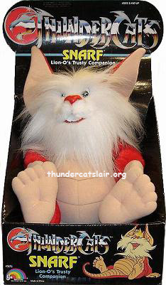 Thundercats  Line on Snarf Plush     Thundercats Lair