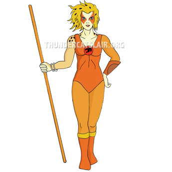 Thundercats Cheetarah on Thundercats Encyclopedia   Cheetara