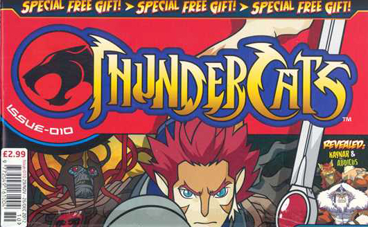 Panini ThunderCats magazine issue 11 to be the final issue!
